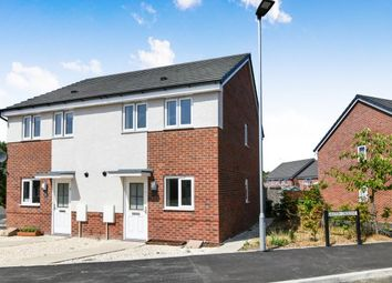 Thumbnail 2 bedroom semi-detached house to rent in Laxton Crescent, Evesham