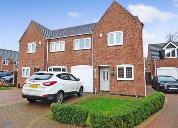 Thumbnail 3 bed semi-detached house for sale in Walnut Close, Hough, Crewe
