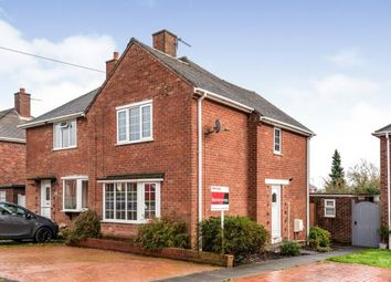 Thumbnail 2 bed semi-detached house for sale in Milton Road, Cannock, Staffordshire, .