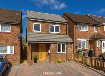 Thumbnail 3 bedroom detached house for sale in Lawrance Road, St Albans, Hertfordshire