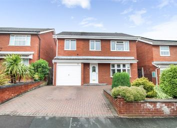 Thumbnail 4 bed detached house for sale in Norwich Close, Lichfield, Staffordshire