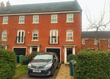Thumbnail 4 bed town house for sale in Hollins Drive, Stafford