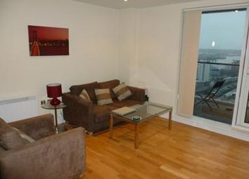 Thumbnail 2 bed flat to rent in Prestons Road, Wharfside Point South, London