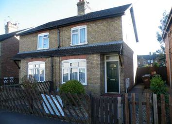 Thumbnail 1 bed semi-detached house to rent in Huntly Road, Woodston, Peterborough