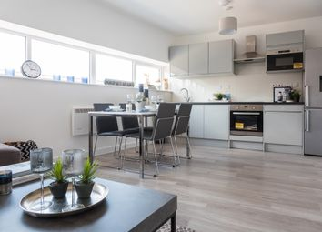 Thumbnail 1 bed flat for sale in High Street, Cradley Heath