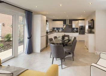 """Thumbnail 5 bedroom detached house for sale in """"Buckingham"""" at Station Road, Langford, Biggleswade"""