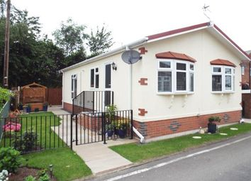 Thumbnail 2 bed mobile/park home for sale in Rixton Park Homes, Moss Side Lane, Rixton, Warrington