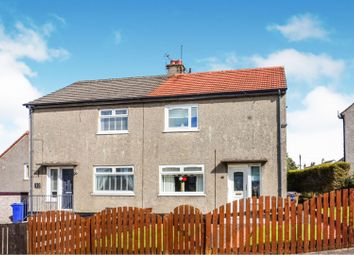 Thumbnail 2 bed semi-detached house for sale in Hollows Crescent, Paisley