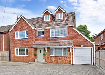 Thumbnail 5 bed detached house for sale in Wigmore Road, Gillingham, Kent