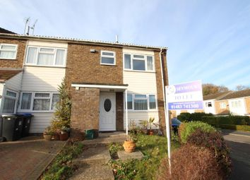 Thumbnail 3 bed end terrace house to rent in Bingham Drive, Woking