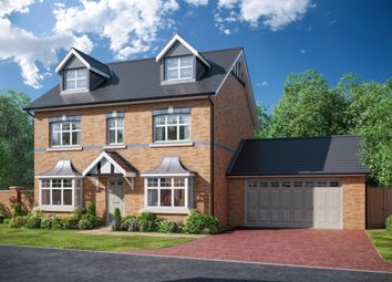 Thumbnail 5 bedroom detached house for sale in Houghtons Lane, Eccleston, St Helens