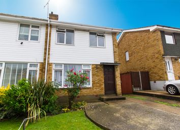 Thumbnail 3 bed semi-detached house for sale in Little Hays, Leigh-On-Sea