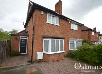 Thumbnail 3 bed semi-detached house for sale in Reservoir Road, Selly Oak, Birmingham, West Midlands.