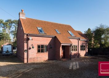 Thumbnail 4 bed detached house for sale in Old Fakenham Road, Foxley