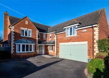 Thumbnail 5 bedroom detached house for sale in Cheviot Close, Sleaford, Lincolnshire