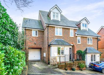 Thumbnail 4 bed semi-detached house for sale in Lincoln Way, Crowborough