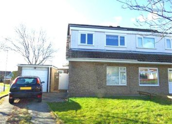Thumbnail 3 bed semi-detached house for sale in Hever Close, Etherley Dene, Bishop Auckland, Durham