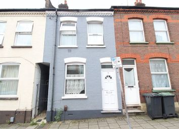 Thumbnail 2 bed terraced house for sale in Highbury Road, Luton