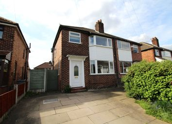 Thumbnail 3 bed semi-detached house to rent in Tanfield Road, East Didsbury, Manchester