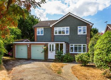 Thumbnail 4 bed detached house for sale in The Hawthorns, Oxted