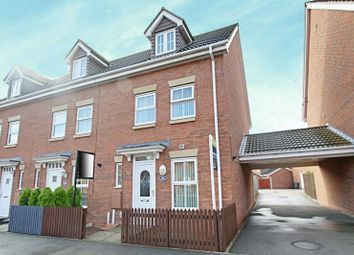 Thumbnail 3 bedroom end terrace house for sale in Woodheys Park, Kingswood, Hull