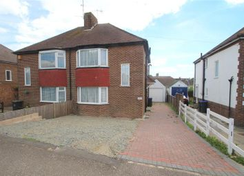Thumbnail 3 bed semi-detached house for sale in Kings Road, Lancing, West Sussex