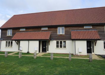 Thumbnail 3 bed terraced house for sale in Stanley Drive, East Harling, Norwich