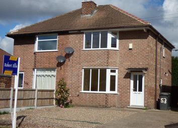 Thumbnail 2 bed semi-detached house to rent in Pinfold Lane, Stapleford, Nottingham