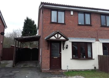 Thumbnail 2 bedroom semi-detached house for sale in The Brambles, The Rock, Telford