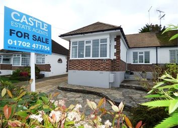Thumbnail 2 bed semi-detached bungalow for sale in Mountain Ash Avenue, Leigh-On-Sea, Leigh On Sea