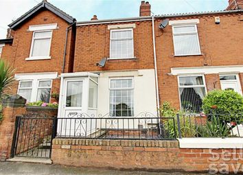 Thumbnail 2 bed terraced house for sale in Welbeck Road, Bolsover, Chesterfield, Derbyshire