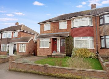 Thumbnail 4 bed semi-detached house for sale in Holliwick Road, Dunstable