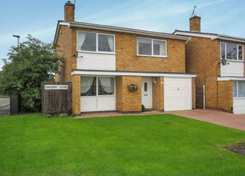Thumbnail 4 bed detached house for sale in Badgers Close, Leicester
