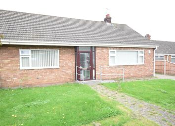 Thumbnail 3 bedroom semi-detached bungalow for sale in Grammar School Walk, Scunthorpe