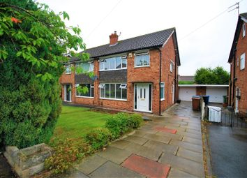Thumbnail 3 bed semi-detached house for sale in Crantock Drive, Heald Green