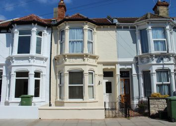 Thumbnail 3 bed terraced house for sale in Canterbury Road, Southsea