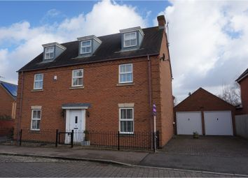 Thumbnail 5 bedroom detached house for sale in Tiverton Crescent, Kingsmead
