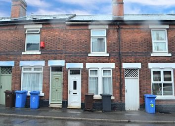 Thumbnail 2 bed terraced house for sale in Findern Street, Derby, Derbyshire