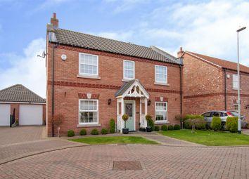 Thumbnail 4 bedroom detached house for sale in Hawthorn Croft Misterton, Doncaster, Nottinghamshire
