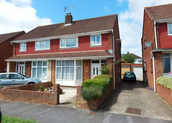 Thumbnail 3 bed semi-detached house for sale in Southbourne Avenue, Drayton, Portsmouth