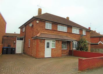 Thumbnail 3 bed semi-detached house for sale in Uvedale Crescent, New Addington, Croydon