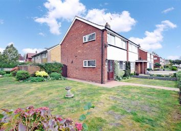 Thumbnail 3 bed semi-detached house for sale in Campbell Drive, Rustington, West Sussex