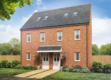 "Thumbnail 3 bed terraced house for sale in ""The Moseley "" at Clarks Close, Yeovil"