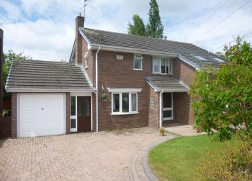 Thumbnail 4 bed detached house for sale in Level Road, Hawarden, Deeside