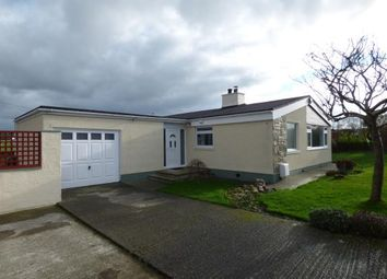 Thumbnail 3 bed bungalow for sale in Maes Coron, Bodedern, Holyhead, Sir Ynys Mon