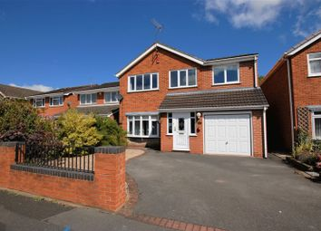 Thumbnail 4 bed detached house for sale in St. Marys Crescent, Uttoxeter