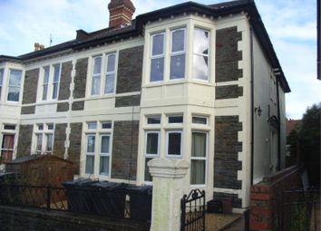 Thumbnail 1 bedroom flat to rent in Sommerville Road, Bishopston, Bristol