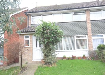 Thumbnail 3 bed semi-detached house for sale in Stapleford Road, Reading, Berkshire