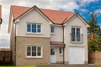 Thumbnail 4 bed detached house for sale in Avondale Off Kilmarnock Road, Troon
