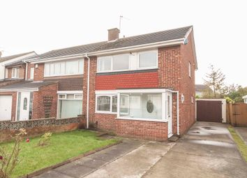 Thumbnail 3 bed semi-detached house for sale in Regency Drive, Hartlepool